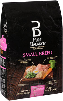Pure Balance™ Small Breed Chicken & Brown Rice Recipe Dog Food 7 lb. Bag