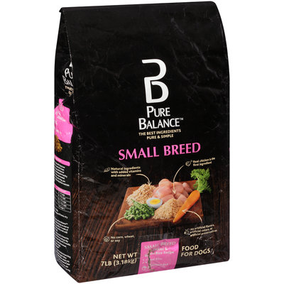 Pure Balance™ Small Breed Chicken & Brown Rice Recipe Dog Food 7 lb. Bag