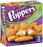 Poppers Cream Cheese Jalapenos