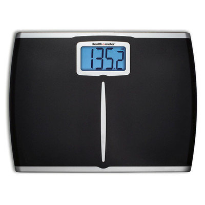 Jarden Home Environment Extra Wide Bath Scale Blk