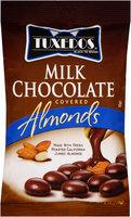 Tuxedos® Black Tie Brand Milk Chocolate Covered Almonds 6 oz. Bag