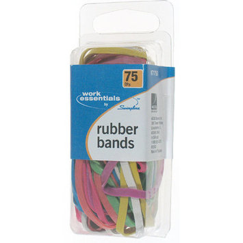 Acco Brands S7071750 75 Count Rubber Band Assortment (6 Pack)