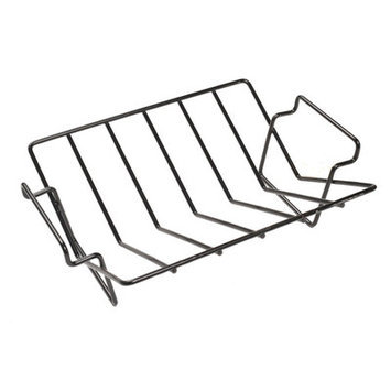 Aura Outdoor Products Dual-Purpose Rib and Roast V-Rack