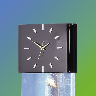 Midwest Tropical Aqua Clock Header Aquarium Stand