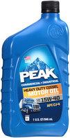 Peak® SAE 15W-40 Heavy Duty Diesel Motor Oil 1 qt. Bottle