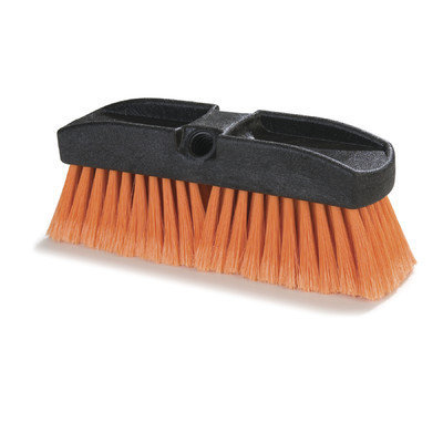 Carlisle Scrubbing Brushes 10 in. Styrene Orange Window Brush (12-Pack)