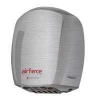 World Dryer Airforce Hi-Speed Hand Dryer Finish: Brushed Stainless Steel, Voltage: 208-240 V