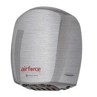 World Dryer Airforce Hi-Speed Hand Dryer Finish: Brushed Stainless Steel, Voltage: 208-240 V