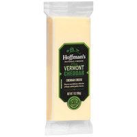 Hoffman's White Vermont Cheddar Cheese 7 oz. Brick