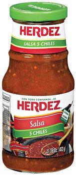 Herdez® 5 Chiles Salsa 16 oz. Jar