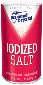 Diamond Crystal® Iodized Salt 26 oz. Shaker
