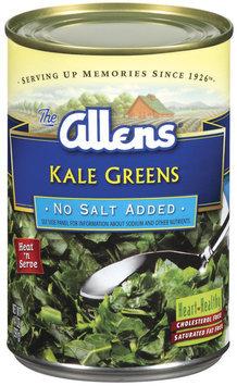 The Allens No Salt Added Kale Greens 14 Oz Can