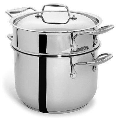 Cul Distributors Culina 6 Quart 3-Piece Cookware Set.