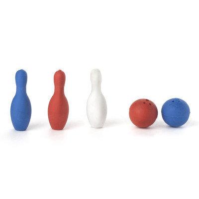 Kikkerland Bowling Erasers (12 Pack)