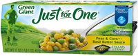 Green Giant® Just for One® Peas & Corn in a Basil Butter Sauce 4 ct. Trays