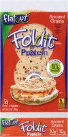 Flatout® FoldIt® 10g Protein Ancient Grains Artisan Flatbread 9 oz. Packet