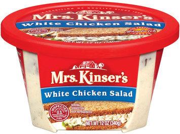 Mrs. Kinser's White Chicken Salad 12 Oz Tub