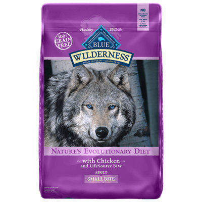 THE BLUE BUFFALO CO. BLUE™ Wilderness® Small Bite Chicken For Adult Dogs