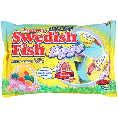 Swedish Fish Eggs Soft & Chewy Candy