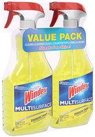 Windex® Multi-Surface Disinfectant 2-26 fl. oz. Trigger Spray