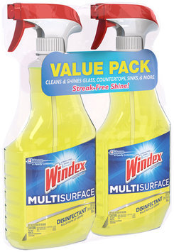 Windex® Multi-Surface Disinfectant 2-26 fl. oz. Trigger Spray