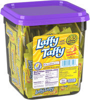 LAFFY TAFFY Banana Candy 145 Pieces 3.08 Pound Tub