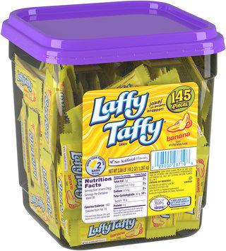 LAFFY TAFFY Banana Candy 145 Pieces 3.08 Pound Tub