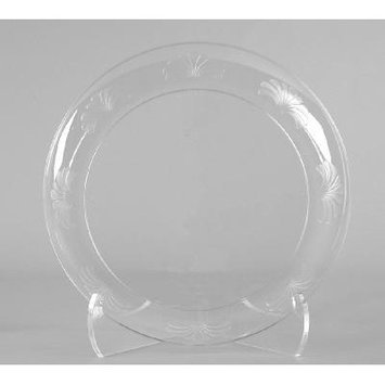 WNA Comet Plastic Plates Desigerware Disposable 10.25