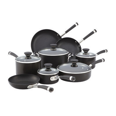 Circulon Acclaim 13-pc. Hard Anodized Cookware Set