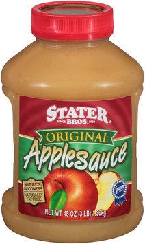 Stater Bros.® Original Applesauce 48 oz. Jar