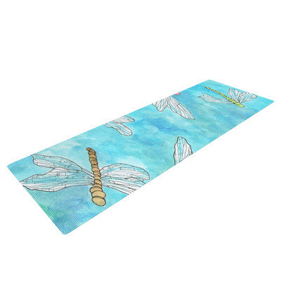 Kess Inhouse Dragonfly by Rosie Brown Yoga Mat