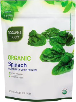 Nature's Touch™ Organic Spinach 10 oz. Stand-Up Bag