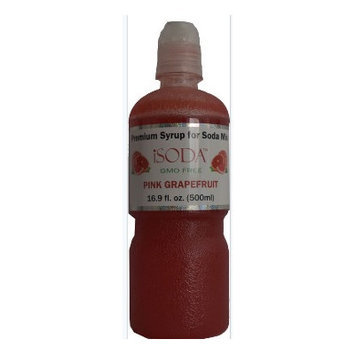 Isoda Premium Pink Grapefruit Soda Mix
