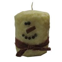 Starhollowcandleco Snowman Pillar Candle Size: Hearth Fatty 5.5