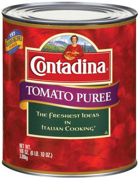 Contadina Tomato Puree Club Pack 106 oz. Can