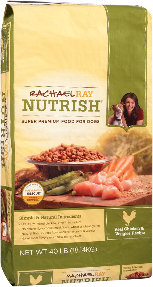 Rachel Ray Nutrish® Real Chicken & Veggies Recipe Dog Food 40 lb. Bag