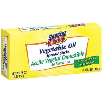 Special Value 48% Vegetable Oil Spread 16 Oz Box