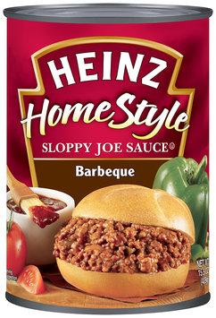 Heinz Homestyle Barbeque Sloppy Joe Sauce 15.5 oz. Can