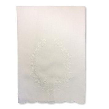 Gerbrend Creations Inc. Floral Crest Guest Linen Towel