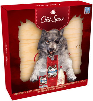 Wild Collection Old Spice Wild Collection Wolfthorn Holiday Bundle With Box