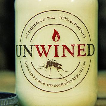 Unwinedcandles Citronella Jar Candle