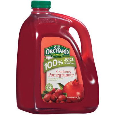 Old Orchard 100% Juice Cranberry Pomegranate Juice Drink 128 Fl Oz Plastic Jug