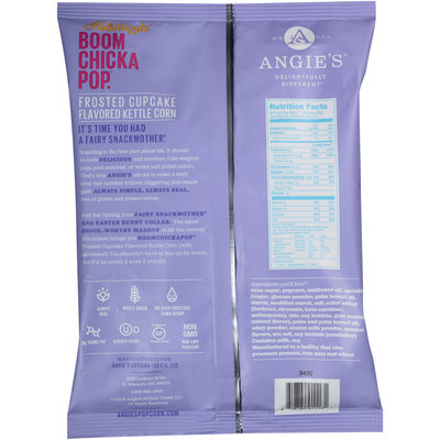 Boom Chicka Pop® Holidrizzle® Frosted Cupcake Flavored Kettle Corn 3 oz. Bag
