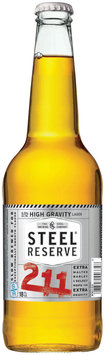 The Steel Brewing Company Steel® Reserve 211 High Gravity Malt Lager 18 fl. oz. Bottle