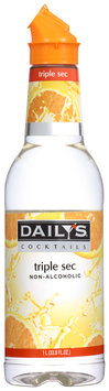 Daily's Cocktails® Non-Alcoholic Triple Sec 33.8 fl. oz. Bottle
