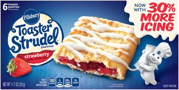 Pillsbury Toaster Strudel™ Strawberry Toaster Pastries 6 ct Box