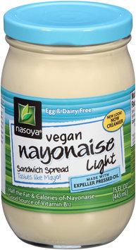 Nasoya® Light Vegan Nayonaise® Sandwich Spread 15 fl. oz. Jar