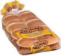 Nature's Own® Butter Hamburger Buns 32 oz. Bag