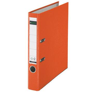 Leitz 180° 10105045 DIN A4 Plastic Lever Arch Folder 52mm Width, Orange