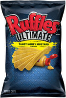Ruffles® Brand Ultimate Tangy Honey Mustard Flavored Potato Chips